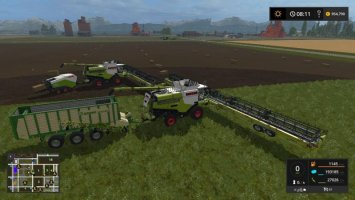 Claas Lexion Ultimate Map Pack fs17
