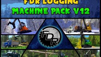 FDR Logging - V12 Machine Pack fs17