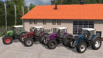 Fendt 900 with metallic paint fs17