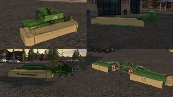 Krone mowers pack v1.0.1 fs17