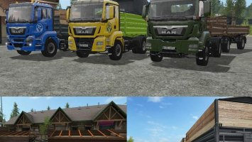 Man TGS Tipper Truck Pack fs17