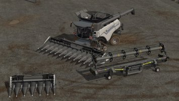 New Holland CR1090 Pack MoreRealistic fs17