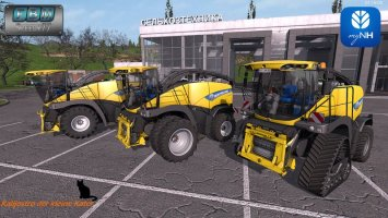 New Holland FR850 *Lite- Version* fs17