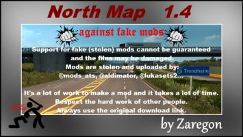 North Map 1.4 ets2
