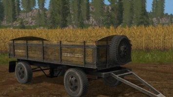 OLD DOMESTIC TRAILER FS17
