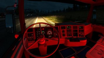 Red light interior ets2