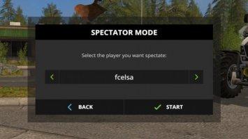 Spectator Mode fs17