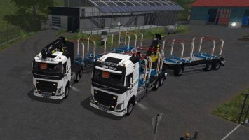 Volvo FH16 Woodpack fs17