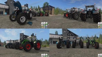 Fendt 700 Vario by Bonecrusher6 fs17