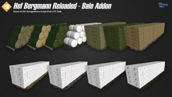Hof Bergmann Reloaded - Bale Addon v1.0.0.1 fs17