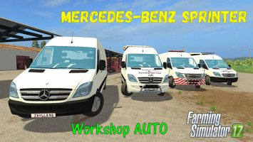 Mercedes-Benz Sprinter 311-318 CDI Workshop fs17