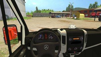 Mercedes-Benz Sprinter 311-318 CDI Workshop FS17