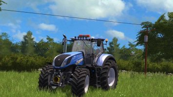 New Holland T7 Modified fs17