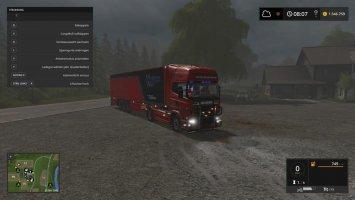 Scania R720 V8 nachtrag v1.0.0.1 fs17