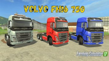 Volvo FH16 750 SWB V1.2