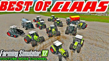 ALL CLAAS TOP TRACTOR PACK fs17