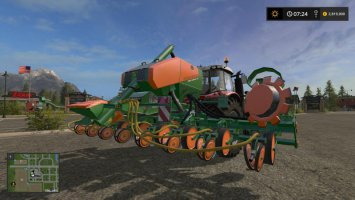 Amazone Multifruit directseed 6m + fertilizer function v1.2 fs17