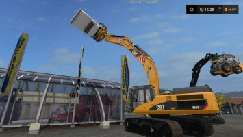 CAT 345D Grapple fs17