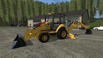Caterpillar 420F Backhoe fs17