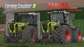 Claas Xerion 3300/3800 V2.0 Final Pack fs17
