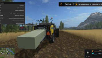 DIRECT SQUARE SILAGE HACKER BALER v1.1 fs17