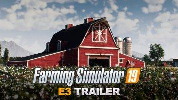 Farming Simulator 19 E3 CGI Trailer news