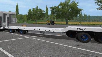 Fliegl 4 Axle LowLoader fs17
