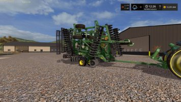 John Deere 2623 Disc with crumblers