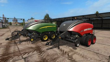 John Deere and Case IH square baler fs17