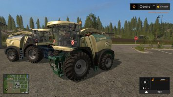 Krone Big X Pack fs17