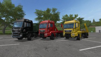 MAN Skip with Container Beta fs17