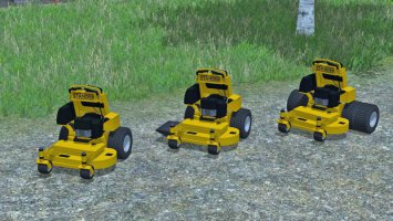 Mower Pack With Wright Staners fs17