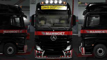 Skin Mammoet For ETS2 1.31.2.2 ets2