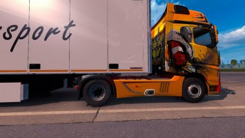Skin Oussama Transport For ETS2 1.30 ets2