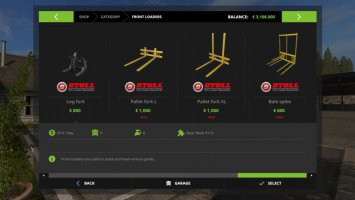 Stoll Frontlader Tools fs17