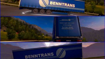Trailer Benntrans For ETS2 1.30 ets2