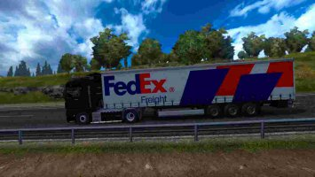 Trailer FedEx Freight For ETS2 1.30 ets2