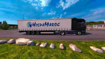 Trailer HispaMaroc For ETS2 1.30 ets2