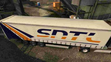 Trailer SNTL Transport For ETS2 1.30 ets2