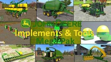 JD implements & tools Mega Pack fs17