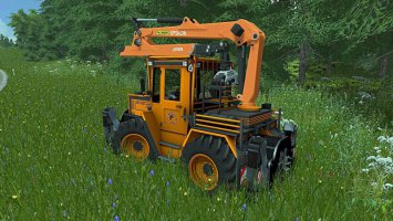 MB Trac 1000 Turbo Forstgreifer fs17