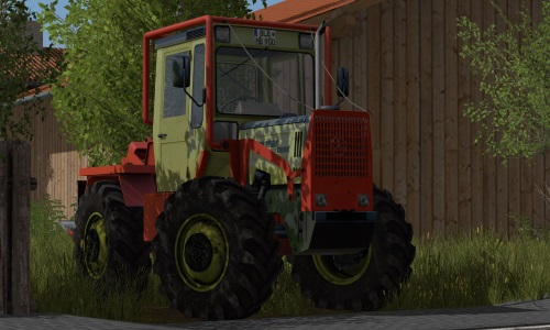 MB Trac 900 Turbo Forst Vision - FS17 Mod | Mod for Farming