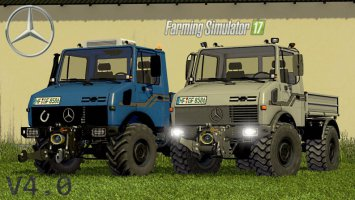MB Unimog 1200/1600/2100 V4.0 Final Full fs17