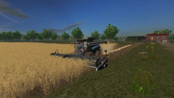 New Holland CR 10.90 with many extras fs17