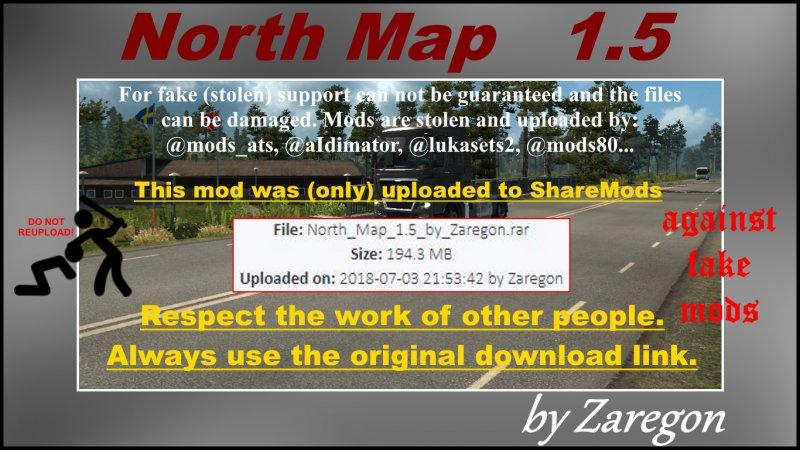 North Map 1.5 ETS2