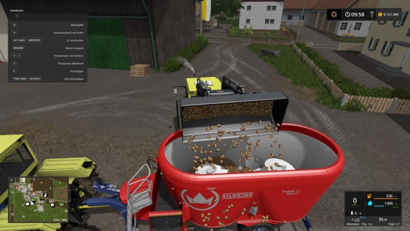 Siloking Mixer Wagon Pack FS17
