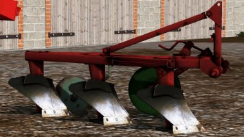 UNIA 3 furrow plow fs17