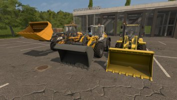 Wheel Loader Shovel fs17