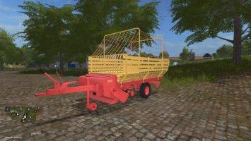 Bautz forage wagon fs17