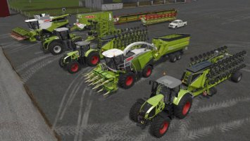 Canadian Farming Map Vehicles fs17